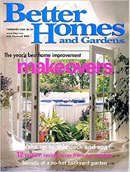 Better Homes And Gardens February 2000 Year 39 S Best Home Improvement Makeovers Wake Up To This