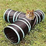 hengfey 3Wege Cat Tunnel zusammenklappbar Cat Spielen Spielzeug -