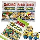 Haribo Minions 4er Sortiment UK-Import von Junior Toys