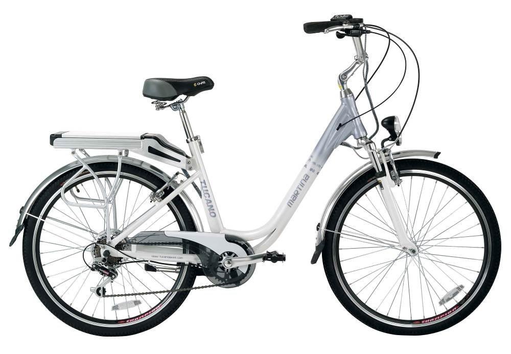 Bicicleta eléctrica urbana Tucano Martina