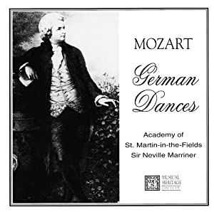 Wolfgang Amadeus Mozart - German Dances - 1756-1791