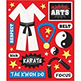 K&Company 452230 Sticker Medley-Martial Arts
