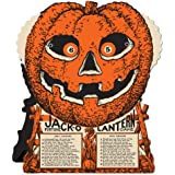 Beistle Jack-O-Lantern Fortune Wheel Game, 9-Inch by 7-1/2-Inch