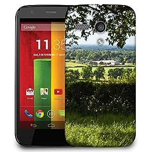Snoogg Abstract Tree Garden Designer Protective Phone Back Case Cover For Motorola G / Moto G