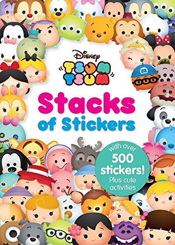 Disney Tsum Tsum Stacks of Stickers