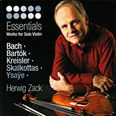 Bach, Bart�k, Kreisler, Skalkottas & Ysa�e: Essentials - Works for Solo Violin