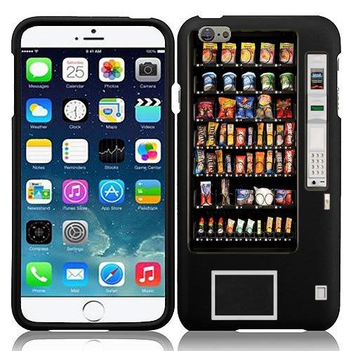 iPhone 7 Case, Design Slim Fit Hard Phone Cover Case by URAKKI - Apple iPhone 7 (4.7-inch) Version (2016 Release) [Black Retro Vending Machine Design] Case (Phone Charging Vending Machine compare prices)