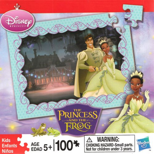 Cheap Hasbro Disney The Princess and the Frog: Prince Naveen and Tiana 100 Piece Puzzle (B003MCXRKS)