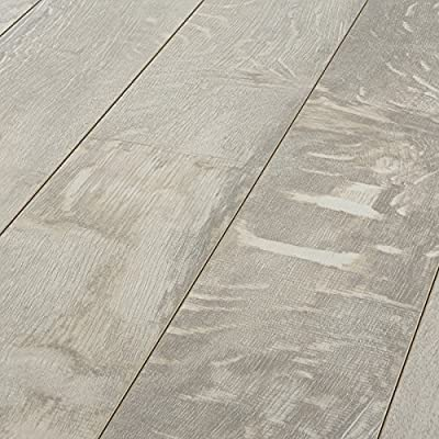 Armstrong Rustics Forestry Mix White Washed 12mm Laminate Flooring L6620 SAMPLE