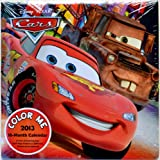 Disney Pixar Cars (Color Me) 2013 - 16 Month Wall Calendar 10x10