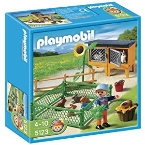Playmobil 5123 Country Farm Rabbit Pens