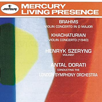 Brahms/Khachaturian: Violin Concertos