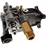 New Universal Horizontal Pressure Washer Pump, 2400-3100 PSI 2.5 GPM, Fits DeVilbiss, Porter Cable, DeWalt, Troy Bilt, Ex-Cell and More