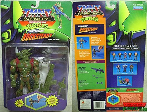Tmnt Supermutants Teenage Mutant Ninja Turtles Supermutant Rocksteady