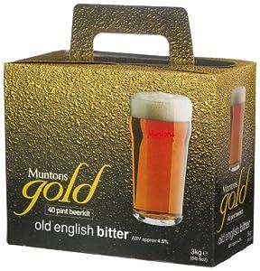 Muntons Gold 40 Pint Beerkit, Old English Bitter, 102-Ounce Box