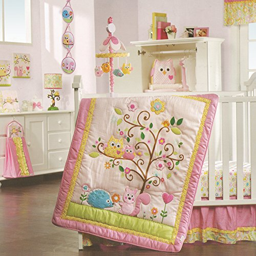 Lambs & Ivy Dena Happi Tree 8 Piece Bedding Set