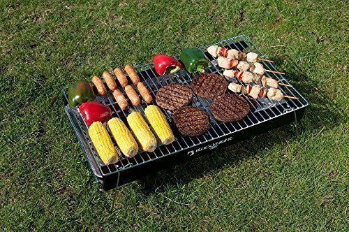BKB 777 TAKE AWAY TRAGBARE ODER BJ. CHARCOAL BLACK KNIGHT BARBEQUE KIT jetzt bestellen