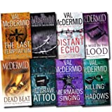 Val Mcdermid Val McDermid Crime & Mystery Series Novel Collection 8 Books Set (The Distant Echo, Dead Beat, Common Murder, The Mermaids Singing, The Wire in the Blood, The Last Temptation, The Grave Tattoo, Killing the Shadows) (Val Mcdermid Collection)