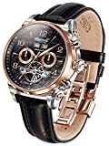 [インガーソル] Ingersoll 腕時計 自動巻 限定生産品 フルカレンダー  オープンハート San Bernadino IN4514RBK [並行輸入品]