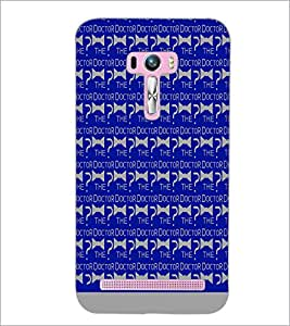 PrintDhaba The Doctor Pattern D-1075 Back Case Cover for ASUS ZENFONE SELFIE ZD551KL (Multi-Coloured)