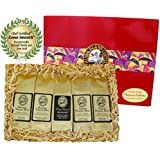 Kona Hawaiian Platinum Collection Gourmet Coffee Gift, Ground Coffee, Brews 60 Cups