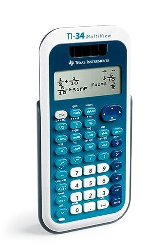 TI-34 Multi View Calculator