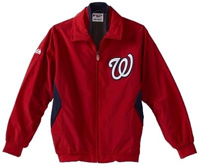 MLB Washington Nationals Triple Peak Premier Jacket, Red/Navy