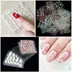 Mode Galerie 50 Feuilles d'Ongles Sti...