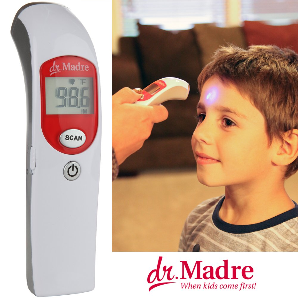 Dr. Madre Medical Infrared Talking Forehead Thermometer