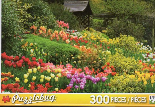 Tulips - At Little Larford Stourport on Severn - 300 Pc Jigsaw Puzzle - NEW by Puzzlebug