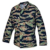 Tru-Spec Original Jacket VN Tiger Stripe Rip Stop BDU, Small, Regular 1590003