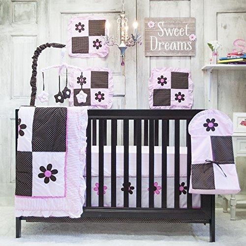 Pam Grace Creations 10 Piece Bedding Set, Pam's Petals - 1
