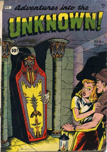 Adventures into the Unknown - 3 cover