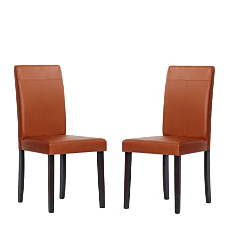 Metro Shop Warehouse of Tiffany Brown Toffee Dining Room Chairs (Set of 2)