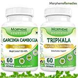 Garcinia Cambogia (HCA >60%) + Triphala For Weight Loss Supplement &#8211; 500mg Extract &#8211; 60 Veg Capsules&#8221; /></a></p> <ul> <li>YOU DON&#8217;T HAVE TO STARVE YOURSELF TO LOSE WEIGHT &#8211; Imagine Eating Only A Few Bites And Feeling Completely Full &#8211; Or By Dinner Time Not Feeling Hungry At All&#8230;? Eliminates Those Powerful Cravings That You Just Couldn&#8217;t Resist In The Past! This Brand New Formula Is Specifically Designed To Curb Hunger Pains Without Restricting Calories Or Changing Your Daily Habits!!</li> <li>NATURAL ANTIOXIDANT &#038; ANTI-INFLAMMATORY &#8211; Supports Healthy Digestion, Boosts Your Entire Digestive System Including Cleansing, Strengthening And Toning Your Colon, Promotes the Absorption of Nutrients, and Helps Detoxify and Strengthen the Entire Body.</li> <li>HOW IT WORKS: Anti-Oxidant &#038; Anti-Inflammatory Attributes, Aids in Digestion, Boosts Liver Function, Promotes A Healthy Heart, Lowers Fat &#038; Aids In Weight Loss, Great for Healthy Skin &#038; An Amazing Irritable Syndrome Therapy Treatment</li> <li>WHY BUY FROM US AND NOT ANOTHER, CHEAPER OPTION? &#8211; You&#8217;ve seen or heard about Garcinia working for some but not for others? It&#8217;s all about the dosage and formula. We formulated and dosed ours off of the exact specifications of the experts.</li> <li>NO SIDE EFFECTS &#8211; Most Users Report Zero Side Effects. No Jitters. No Nausea. No Headaches. In Fact, People Are Actually Reporting An Increase In Energy Throughout The Day</li> </ul> <p><span class='description_details'>Garcinia Cambogia: </p> <p>Garcinia cambogia is an excellent herb for maintaining perfect body weight and is regarded as the best medication for obesity and acts as weight loss supplement. It helps in reducing our natural capability for storing up body fat. It is an effective natural appetite suppressant. </p> <p>Remember the ideal weight loss goal is only obtained by balanced diet and exercise with Garcinia Cambogia. Keep patience to see result, since one have gained weight over</span></p> <p><div style=
