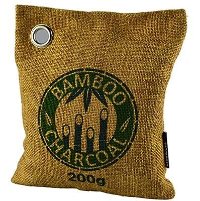 Natural Bamboo Charcoal Bag, Natural Air Purifying Bag, Odor Eliminator,Activated Charcoal Bag, Bamboo Charcoal Bag, Shoe Deodorizer, Air Purifying Bag, Natural Odor Absorber, Bamboo Charcoal 75g*2