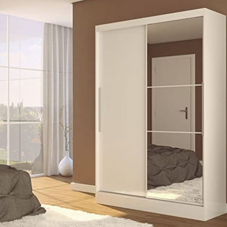 Lynx 2 Door Sliding Wardrobe Finish: White