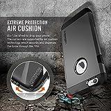 Spigen Coque iPhone 6 [ARMURE] Coque iPhone 6 [Tough Armor] [Gunmetal] Protection EXTREME double couche pour iPhone 6 (2014) - Gunmetal (SGP11022)