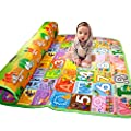 Myhome Extra Large Farm Park + Alphanumeric Pattern on Both Sides Eco-friendly Baby Care Crawl Kids Play Mat