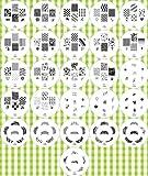 2012 neue Kollektion von Nail Art Schablonen Set- 26 Schablonen (160 Designs insgesamt) von Cheeky. Ein mega Schnäppchen!!!
