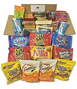 Sweet & Salty Snack Box: 41 Pack