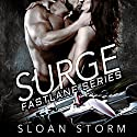 Surge: Bad Boy Racing Romance: Fastlane Series, Book 1 Audiobook by Sloan Storm Narrated by Beth Roeg
