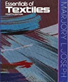 img - for Essentials of Textiles by Marjory L. Joseph (1987-10-03) book / textbook / text book