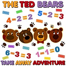 The Ted Bears Take Away Adventure | Livre audio Auteur(s) : Roger William Wade Narrateur(s) : Brenda Markwell