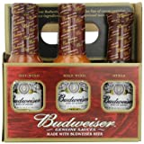 Budweiser Genuine Sauces Gift Set, 6 Pack