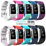 Fitbit-Charge-2-Band-MoKo-6-PACK-Soft-Silicone-Adjustable-Replacement-Sport-Strap-Band-for-2016-Fitbit-Charge-2-HR-Heart-Rate-Fitness-Wristband