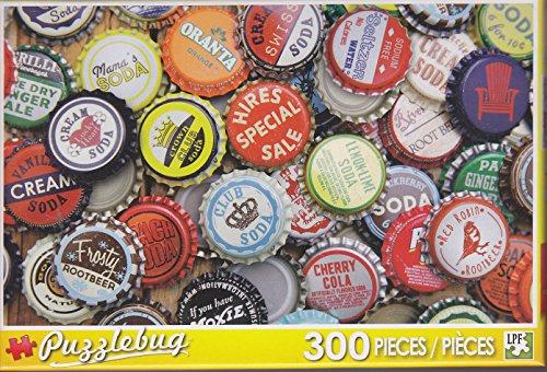 Puzzlebug 300 ~ Vintage Soda Bottle Caps
