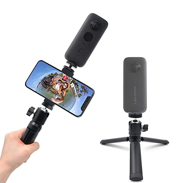 Adjustable Selfie Stick Telescopic Aluminum Alloy Extension For Insta360 One X