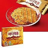 韓国お土産 韓国バターワッフルクッキー