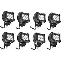 8-Piece Primeprolight 18w LED Work Light
